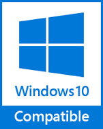 Compatible with Vista, Windows 7, Windows 8 and Windows 10